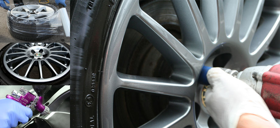 how to fix scratches in alloys