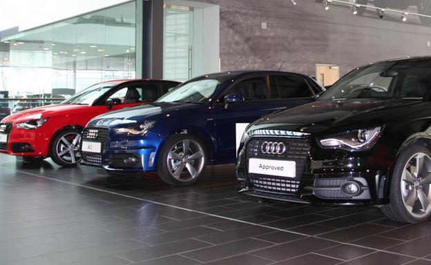 Audi - showroom